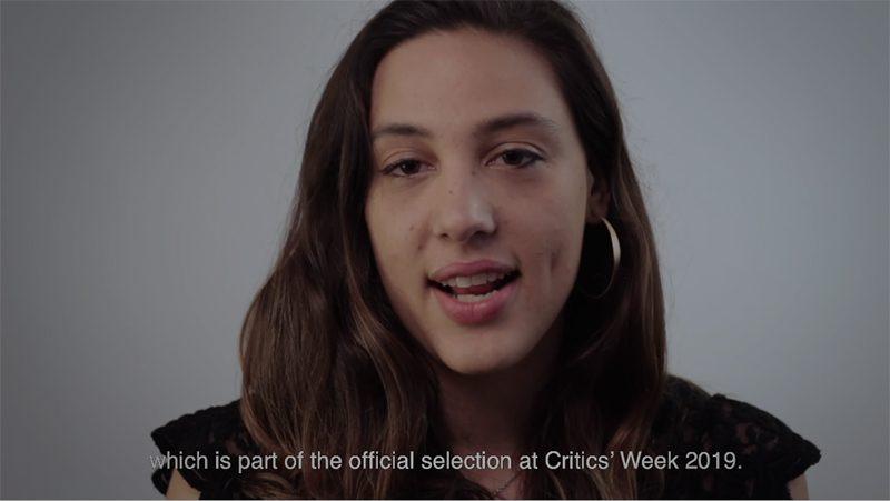 Sofía Quirós, directora de «Ceniza Negra», película seleccionada en la Semana de la Crítica 2019
