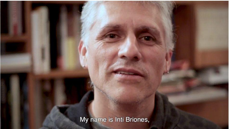 """Inti Briones, productor y director de fotografía de """"Canción sin nombre"""""""