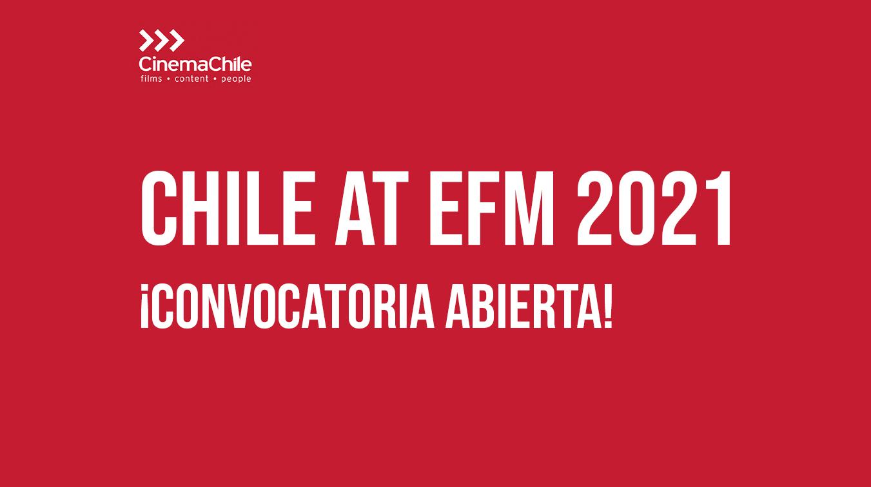 CONVOCATORIA CERRADA // ¡Extendemos el plazo! Convocatoria delegación chilena en European Film Market de la Berlinale 2021