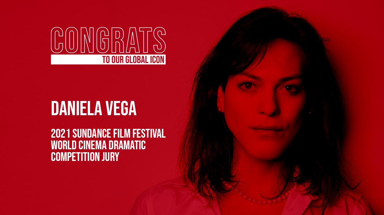 Nuestra ícono global, la gran Daniela Vega, anunciada como parte del Jurado de la Competencia de Cine Dramático Mundial de Sundance 2021!