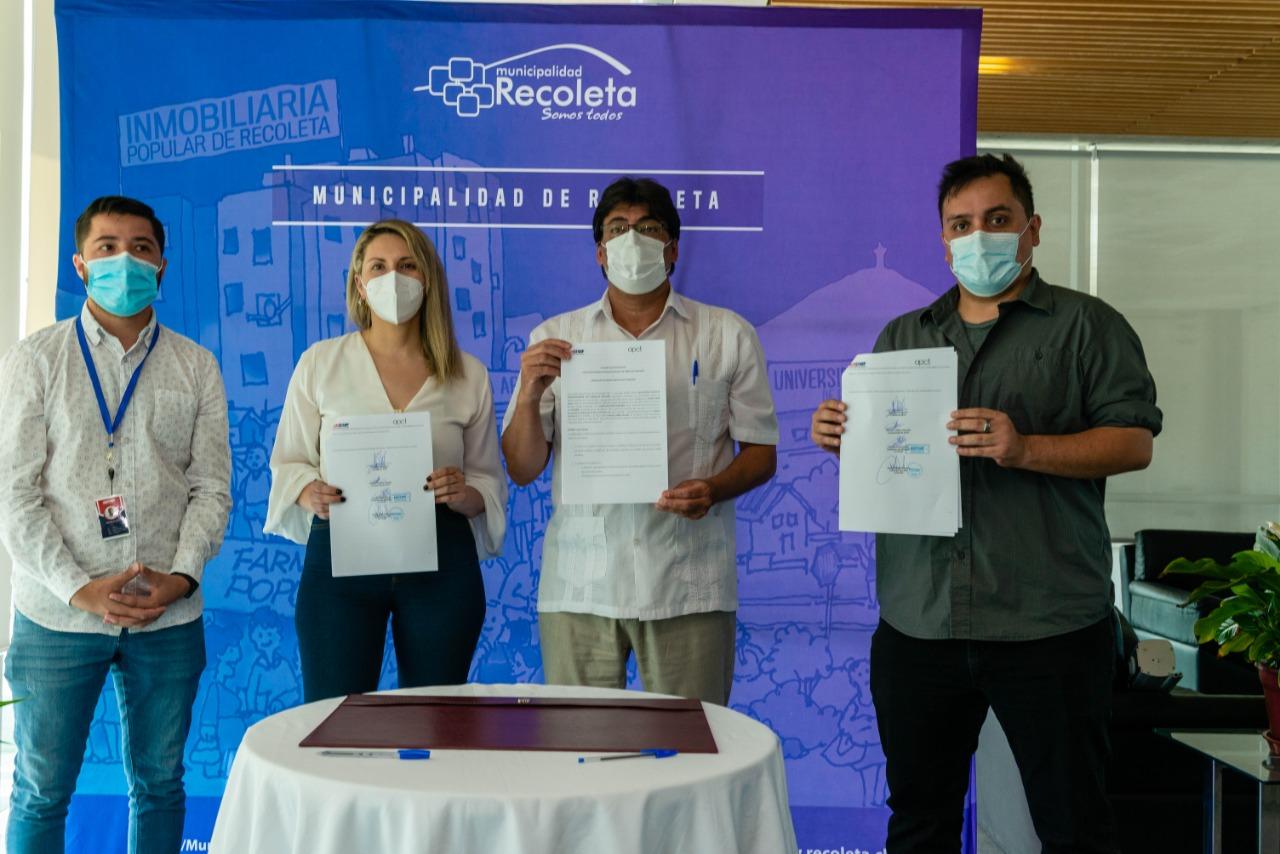 APCT y ACHIFARP firman convenio para compra de insumos